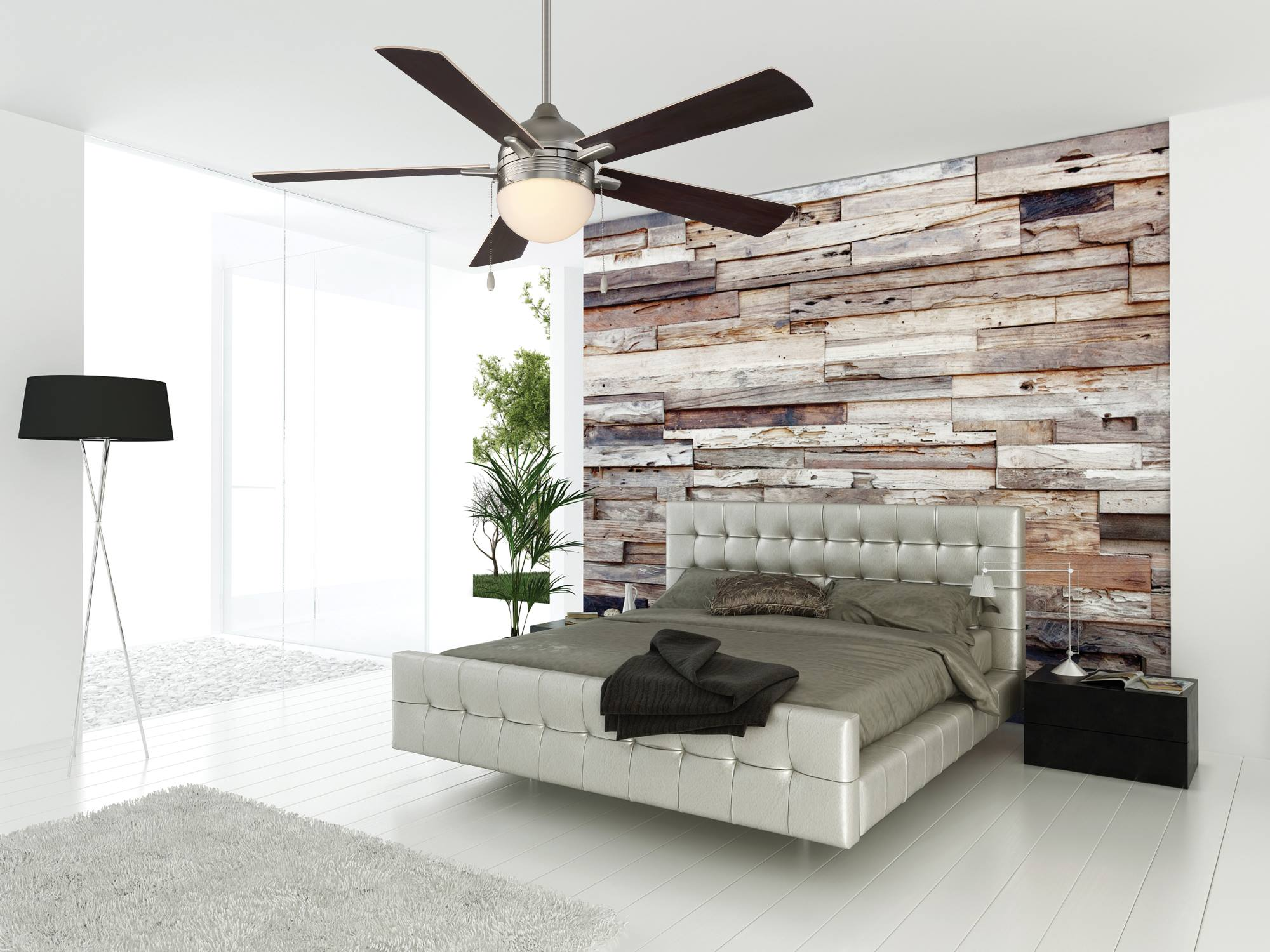 Channel Your Inner Designer With These Modern Ceiling Fans